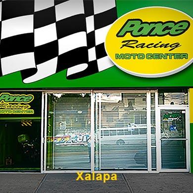 Exterior sucursal ponce racing Xalapa